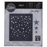 Sizzix Thinlits Falling Stars Dies