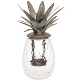 Pineapple Glass Candle Holder
