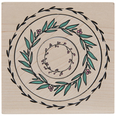 Nesting Wreaths Rubber Stamps