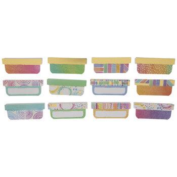 Watercolor & Foil Adhesive Tabs