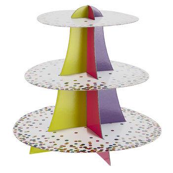 Confetti Cupcake Stand