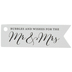 Mr & Mrs Bubble Favor Tags