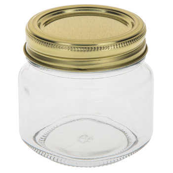 Glass Mason Jar - 8 Ounce