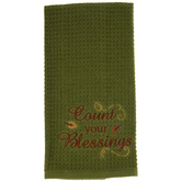 Count Your Blessings Kitchen Towel