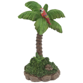 Palm Tree With Parrot
