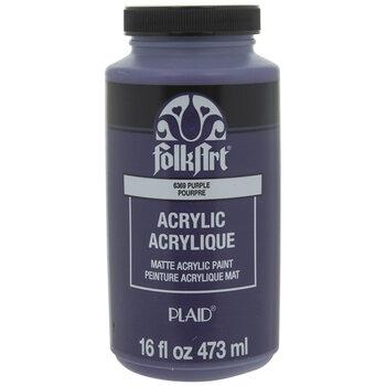 Purple Acrylic Paint - 16 Ounce