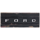 Ford Rusted Tailgate Metal Sign
