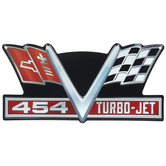 Chevrolet Corvette 454 Turbo-Jet Metal Sign
