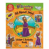 Beginner's Bible All About Jesus Sticker & Activity Book
