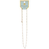 Dainty Ball Chain Necklace