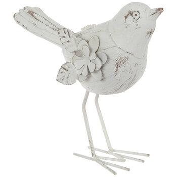White Rustic Bird