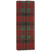 Red & Green Plaid Tissue Paper