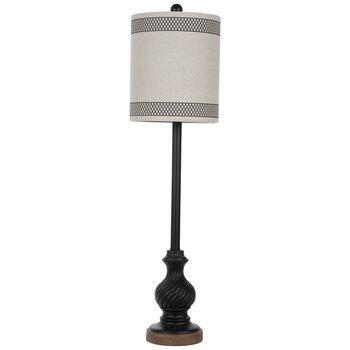 Ornate Swirled Lamp