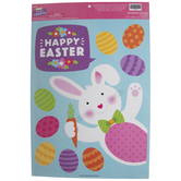 Happy Easter Window Clings