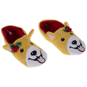 Holly Corgi Slippers - Small/Medium