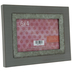Gray Wood Frame With Metal Trim - 6
