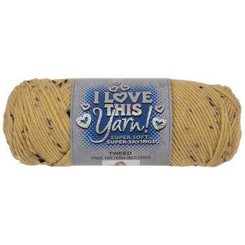 Sweet Dijon Tweed I Love This Yarn