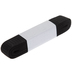 Black Non-Roll Woven Elastic - 1
