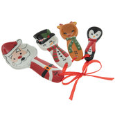 Winter Characters Measuring Spoons