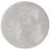White Round Leaves Fondant Mold