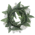 Miniature White Winter Wreath