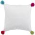 Ho Ho Ho & Pom Poms Pillow