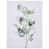 Green Abstract Plant Canvas Wall Decor