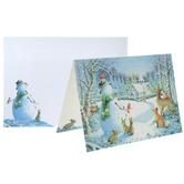 Snowman & Friends Cards