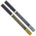 Gold & Silver Extra Fine Point Markers - 2 Piece Set