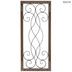 Swirled Rectangle Wood Wall Decor