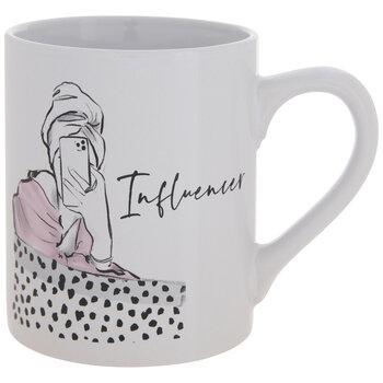 Black & White Influencer Mug