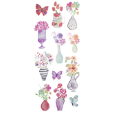 Garden Vases Stickers