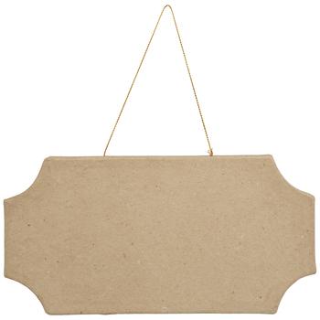 Paper Mache Plaque
