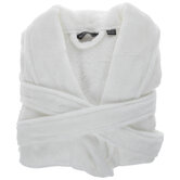 White Velour Robe