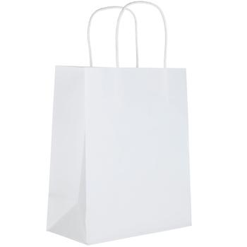 White Craft Bags - Medium