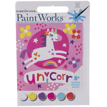 Unicorn Paint By Number Kit