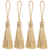 Natural Mini Tassels