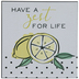 Zest For Life Wood Wall Decor