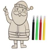 Santa Wood Craft Kit