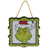 Grinch Frame Ornament