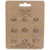 Heart Wood Push Pins