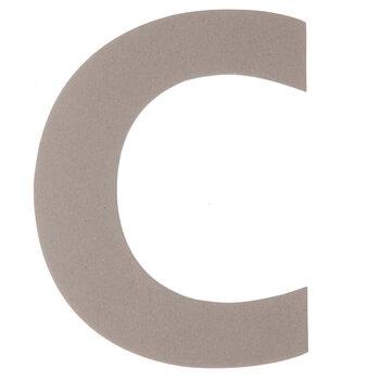 "Chipboard Letter C - 8"""