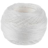 8 White DMC Pearl Cotton Thread - Size 12
