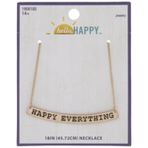 Happy Everything Chain Necklace