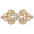 Ornate Crystal Clasp