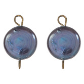 Cultured Pearl Coin Charms