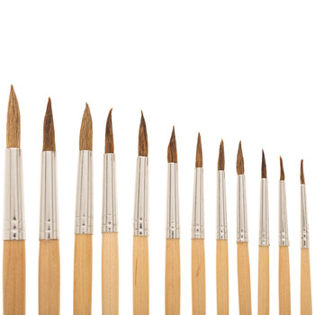 Watercolor Paint Brushes - 12 Piece Set