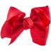 Red Grosgrain Bow Hair Clip