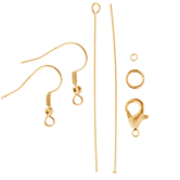 18K Gold Plated Findings
