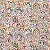 Rainbow Flannel Fabric